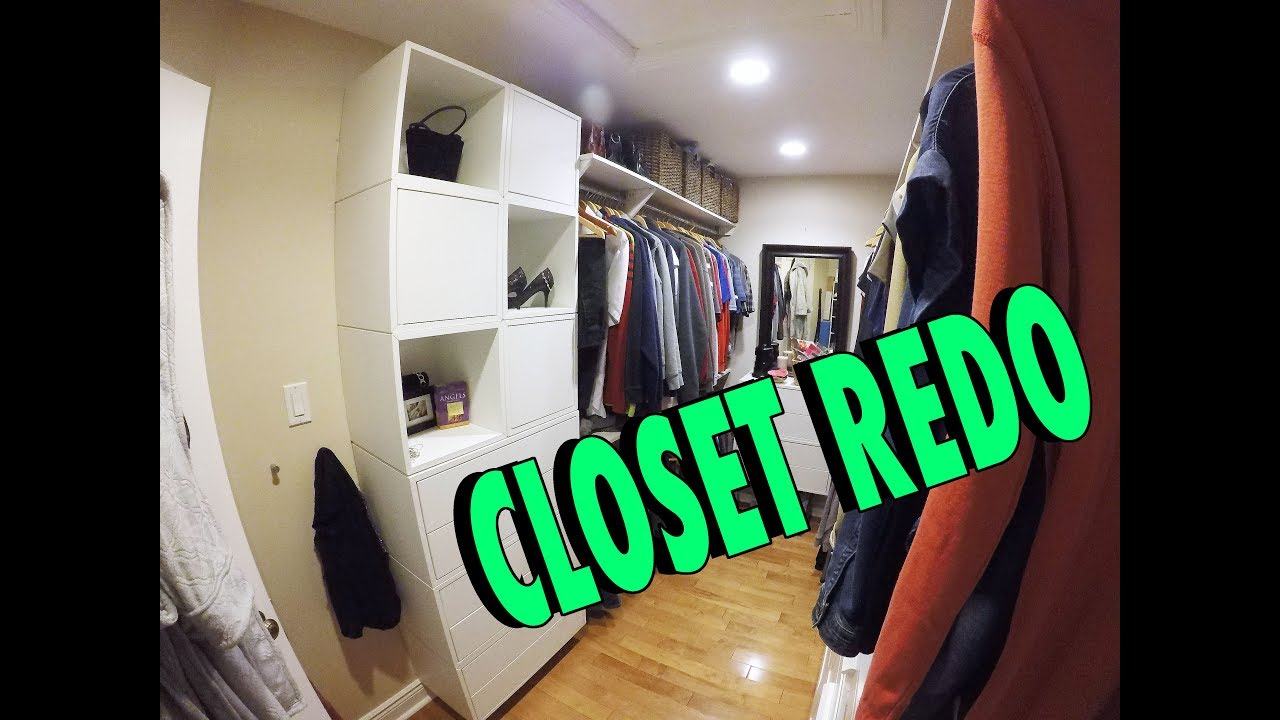 How To Redo Your Master Closet With Ikea Cabinets Bb Renos 002