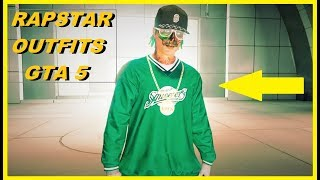 GTA 5 Online BEST MALE OUTFITS - RAP STAR / HIP HOP Outfit-Tutorial