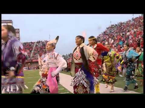 Ute Tribe Utah Football Halftime Performance