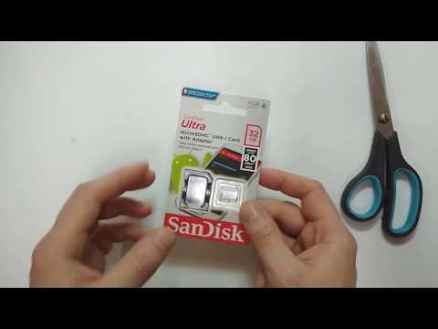 Обзор Карта памяти SanDisk Ultra MicroSDHC UHS-I 32GB из Rozetka