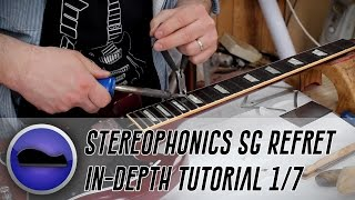 Re-Fretting Kelly Jones of Stereophonics' #1 SG: An In-Depth Tutorial (Part 1)