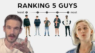 Ranking Guys Based on Apperance