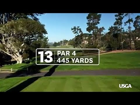2019 U.S. Open at Pebble Beach: Hole 13