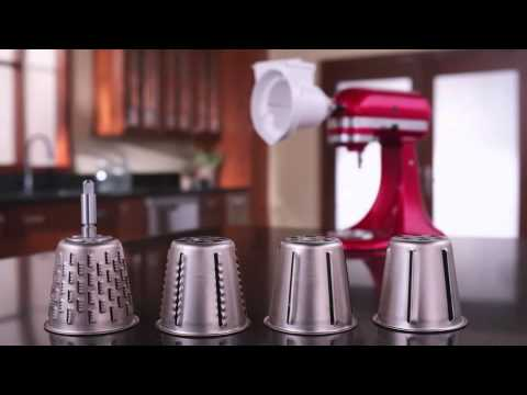 KitchenAid® Rotor Slicer/Shredder - YouTube on cutco slicer, bosch slicer, chefmate slicer, kitchen shredder slicer, chicago cutlery slicer, benriner slicer, cuisinart mandolin slicer, hobart slicer, paderno slicer, progressive slicer, as seen on tv slicer, waring slicer, electric slicer, garlic slicer, one touch slicer, kitchen wizard slicer, chef's slicer, banana slicer, ninja kitchen slicer, oxo slicer,