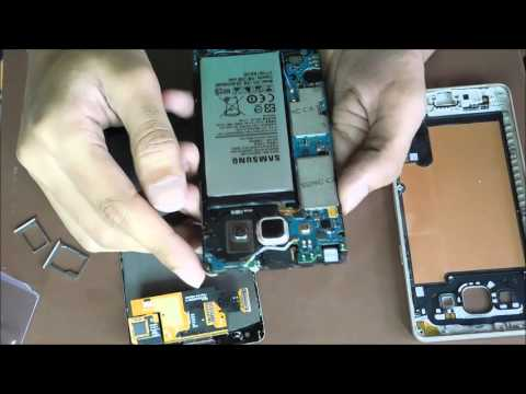 Samsung Galaxy A5 disassembly