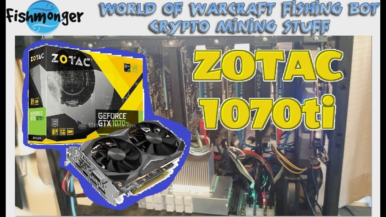 Zotac 1070ti Mini Mining Overview - What can this little card do?