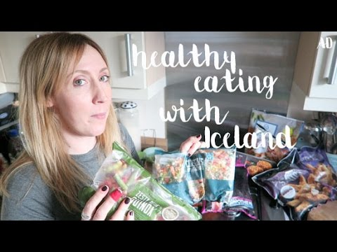 healthy eating haul (with some help from Iceland and Channel Mum) #ad