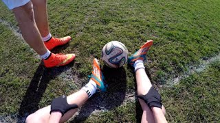 'A Day Of Football' In First Person (GoPro Hero 4) | Footkills98