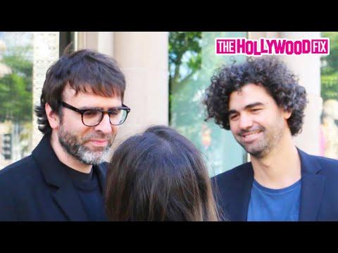 Armando Bo & Nicolas Giacobone  After Birdman Oscar Win 2.23.15  TheHollywoodFix.com