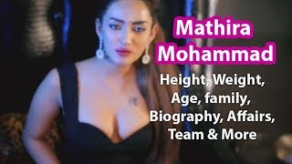 Mathira Age, Height, Weight, Wiki, Biography, Family