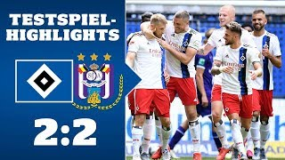 Highlights: HSV - RSC Anderlecht | SAISON 2019/20