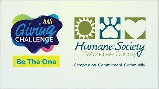 Humane Society of Manatee County - 2018 Giving Challenge