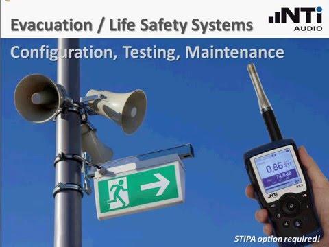 NTi Audio Webinar - Evacuation / Life Safety Systems