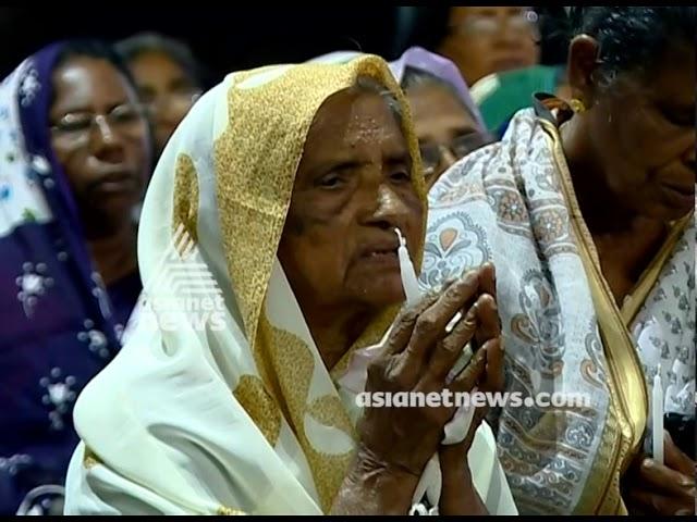 Ockhi tragedy victims commemoration at Palayam