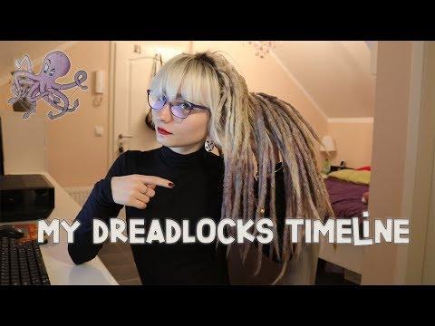 MY DREADLOCKS TIMELINE (3 YEARS ANNIVERSARY)
