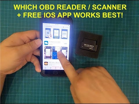 Which ODB2 Reader / Scanner And Free App Is Best For IOS (iPad/iPhone) - Veepeak ODB2 + Car Scanner