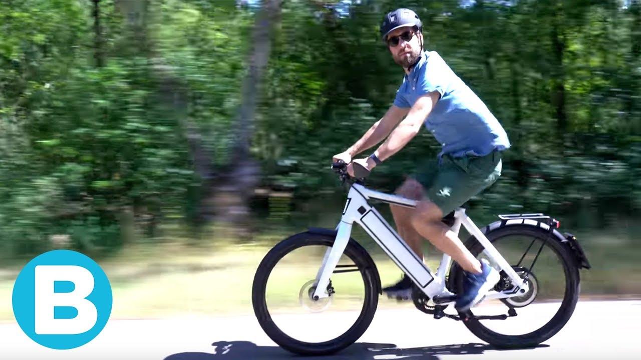 Lichte E Bike : Verslaat deze snelle e bike de auto voor woon werkverkeer? youtube