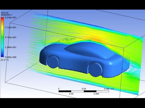 Air flow analysis on a racing car using Ansys Fluent tutorial Must Watch