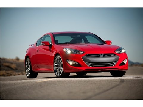 Hyundai Genesis Coupe 2017 Car Review