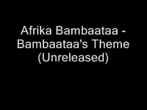 Afrika Bambaataa - Bambaataa's Theme ( unreleased )