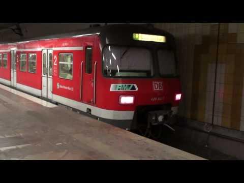 S-Bahn Frankfurt Underground Section [1080p]