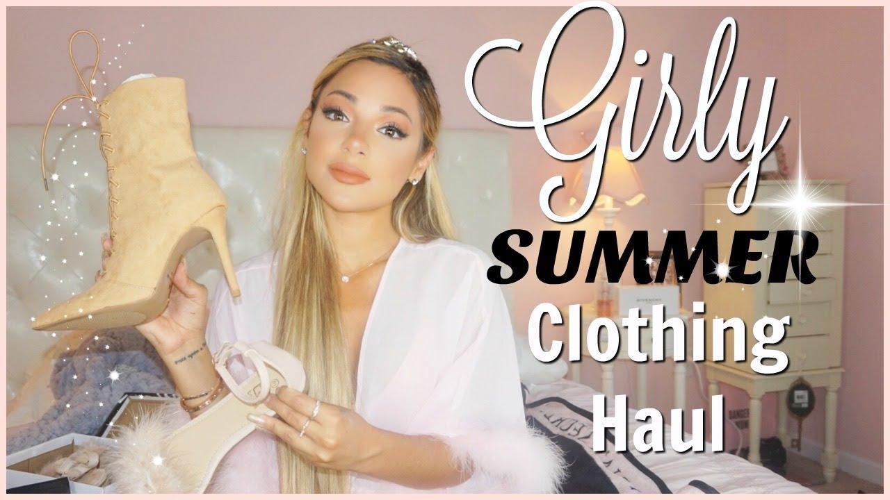 e6a3fb046c girly summer clothing haul | TOBI - YouTube