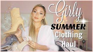 girly summer clothing haul | TOBI