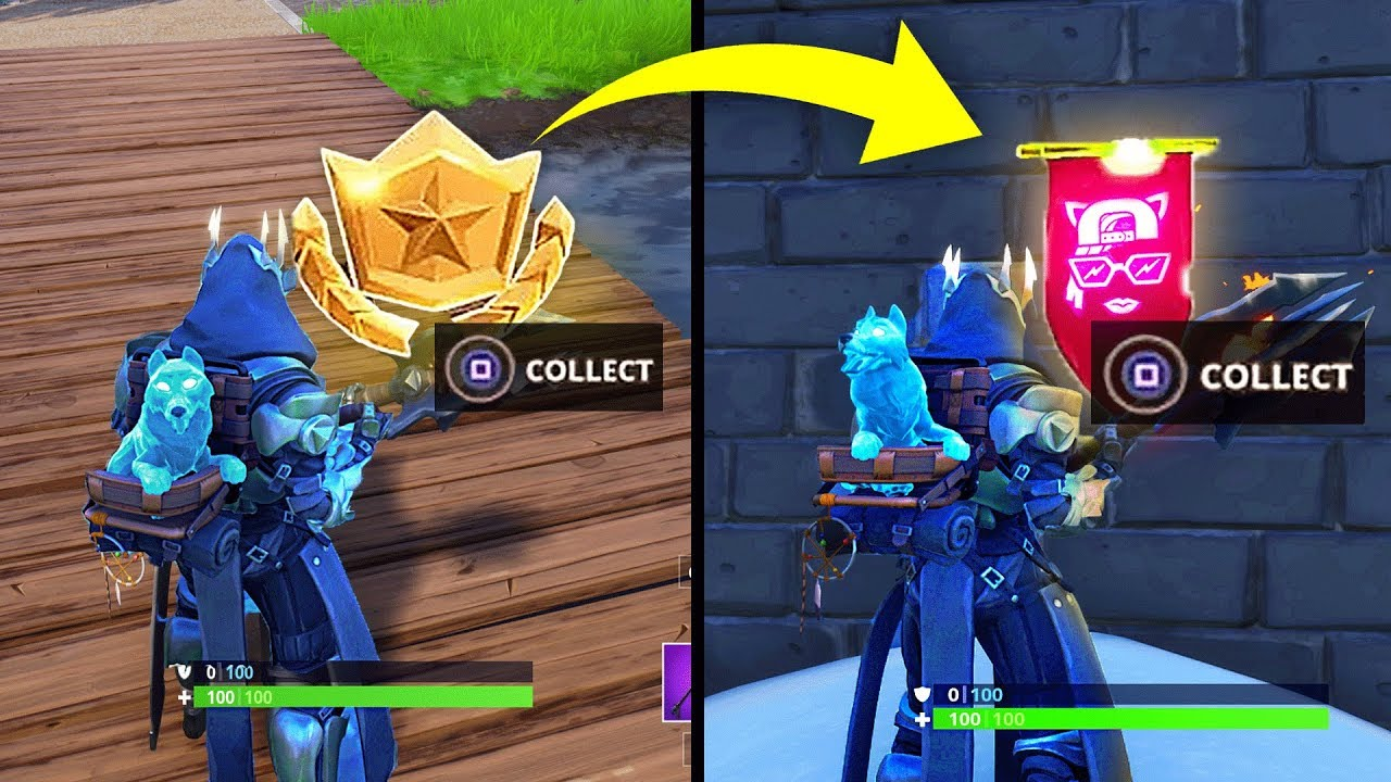 Secret Banner Week 2 Season 7 Location Fortnite Battle Royale