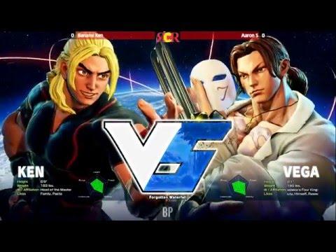 SFV: River City Rushdown 3 - Grand Final+Interview - Banana Ken vs AaronS