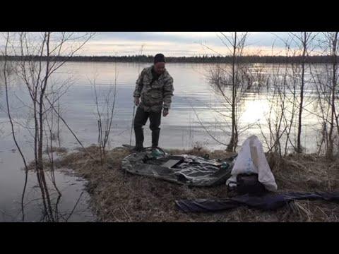 Рыбалка на сети после ледохода / Поймали рыбное ассорти