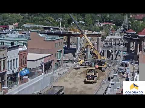 Grand Avenue Bridge Time-Lapse: Weeks 1-2