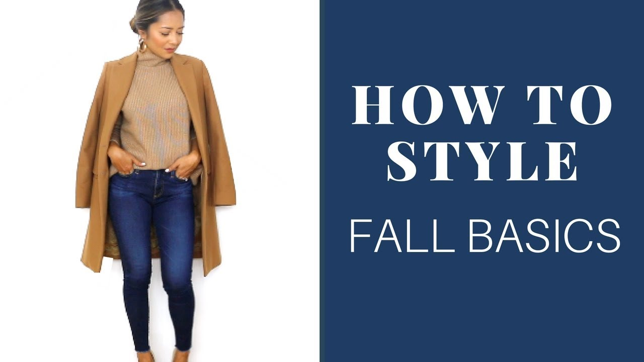 How to Style Fall Basics | Basic Fall Outfits 9
