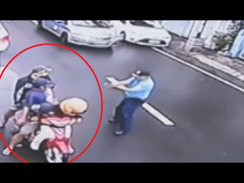 WATCH: Shooting encounter Between Police and Robbers in Manila  GRAPHIC CONTENT!