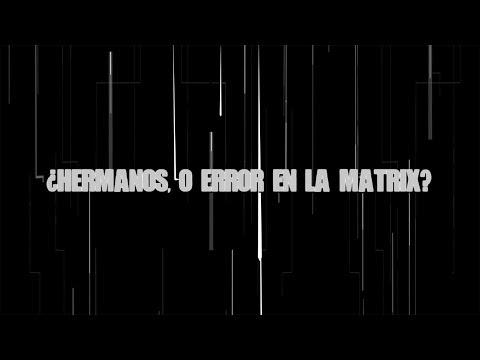 ¿Hermanos, o error en la Matrix?