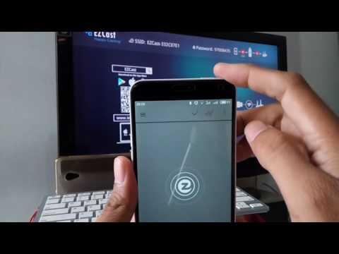 Cara Sambung HP ke Semua TV dengan EZCast