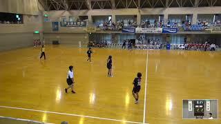 2019年IH ハンドボール 女子 3回戦 四天王寺(大阪)VS 今治東中等教育(愛媛)