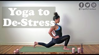 20 Minute Yoga to De-Stress