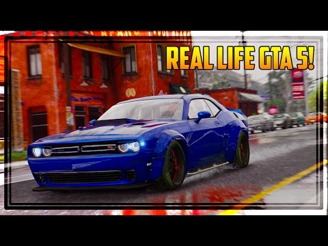 GTA 6 GRAPHICS & REAL LIFE CARS IN GTA 5! (Mods Gameplay)