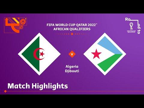 Algeria Djibouti Goals And Highlights