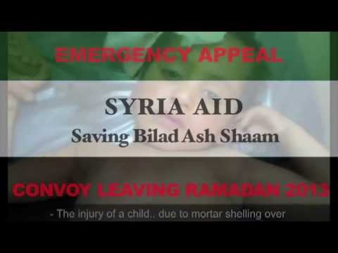 Syria Aid Emergency Appeal - Donate NOW!
