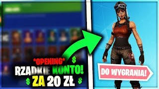OPENING ACCOUNT FOR 20ZŁ 😱 RARE SKINS 🤑 100LVL CARNET 🔥 GIVEAWAY-Fortnite Battle Royale | Hexo