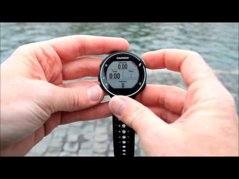 Garmin Forerunner 230 Fr230 Hands On Overview Youtube