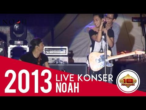 Uki Gantikan Ariel Nyanyikan  Lagu Mungkin Nanti (Live Konser Banjarnegara Jateng 10 November 2013)