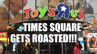 WWE ACTION INSIDER: Times Square TOYSRUS Wrestling Figure TOY HUNT!