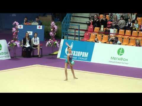 Dina Averina мяч Художественная гимнастика