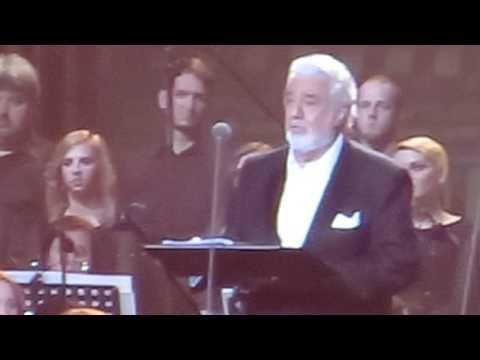 Placido Domingo live in Poznań / Poland, 27.04.2014 - Risuona Anima Mia - opening
