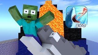- Monster School Hungry Shark Evolution Challenge Minecraft Animation