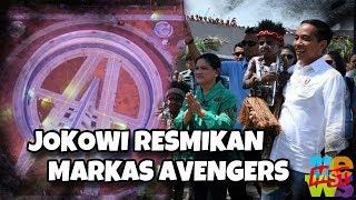 Jokowi Resmikan Markas Avengers, Untuk Sejarah dan Semangat Indonesia Maju