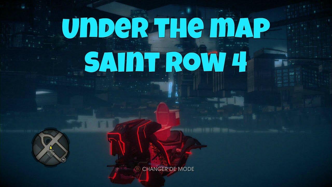 Glitch |SR4| Wallbreach under the map on Saint Row 4 - YouTube