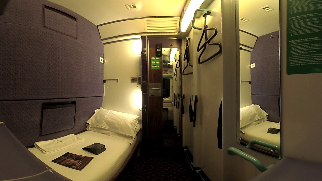 Riding First Class On The Caledonian Sleeper Train To Scotland